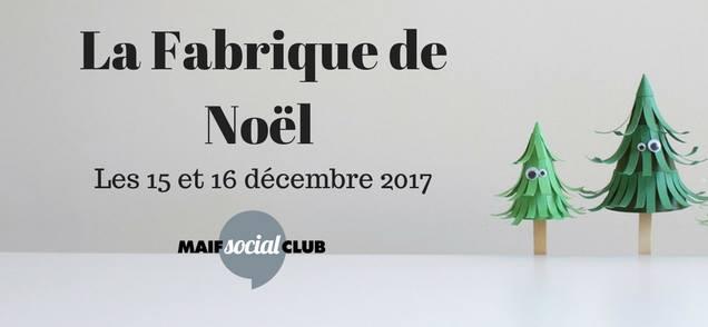 Marché de Noël à la MAIF Social Club